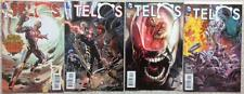 Telos  #1,2,3 & 4 (DC 2015) FN to NM condition.
