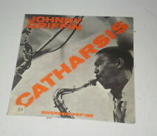 "JOHNNY GRIFFIN - CATHARSIS - 7"" RIVERSIDE MADE IN ITALY - REP 138 - EX/VG++ -"