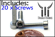 M3 x 16mm – Qty 20 – DIN 912 SOCKET HEAD Cap Screws - Stainless Steel A2 / 18-8