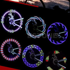 14 LED Motorcycle Bicycle Cycling Wheel Bike Signal Tire Spoke Light 30 Changes