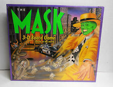1994 Parker Brothers the Mask 3-D Board Game Based on the Movie