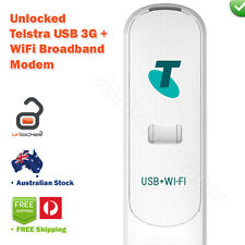 Telstra Next G 3G USB + WiFi Hotspot Mobile Broadband Wireless Modem UNLOCKED