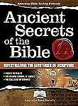 American Bible Society Ancient Secrets of the Bible - New - American Bible Socie