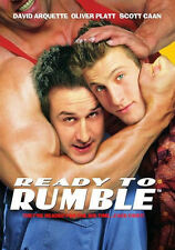 READY TO RUMBLE (2000 David Arquette) - DVD - Region Free - Sealed