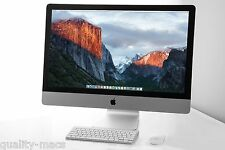 "SUPERB  27"" Apple iMac 5K desktop 3.5 - 3.9GHz i5 1TB Fusion HD 8GB RAM 2 GB GFX"