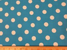 "Nickle Quarter Polka Dot Fabric BTY by yard 36x44 UPICK color quilting 7/8"" JAM"