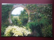 POSTCARD BUCKINGHAMSHIRE THE GARDENS AT CLAYDON HOUSE AYLESBURY VALE