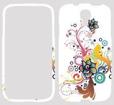 Carcasa Estampado Floral Para Samsung Galaxy S4 I9500 I9505 Teléfono Móvil