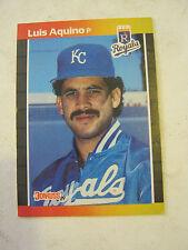 1989 Donruss #534 Luis Aquino Baseball Card, Very Good Condition (EB1-33)