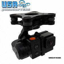 New GoPro Hero Brushless 3-Axis Gimbal w/ Controller Lightweight FPV Stabilizer