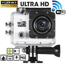 WiFi HD 1080P 12MP Waterproof Sports DV Video Action Camera Car Camcorder R0N6