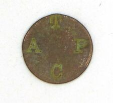 1880 Indian Head Penny With Letters Atpc Stamped On It - Worn Condition