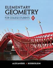 Elementary Geometry for College Students by Marilyn Massey, Daniel C....