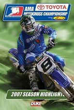 AMA Motocross Championship - Official review 2007 (New DVD) Langston Alessi