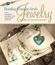 Beading Vintage-Style Jewelry: Easy Projects with Elegant Heirloom App-ExLibrary
