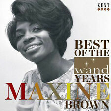 "MAXINE BROWN  ""BEST OF THE WAND YEARS - 28 TRACKS FROM HER 60's HEYDAY"""