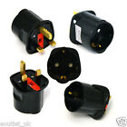2 Pin Schuko/Schuko/Shuko Europe EU Plug to UK 3 Pin Mains Socket Travel Adaptor