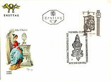 AUSTRIA 22 JUNE 1970 CLOCK FIRST DAY COVER SHS