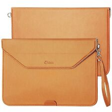 Apple Macbook Air 13 Case Waterproof Leather Bag Sleeve Carrying Strap Slim New