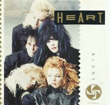 HEART Alone CD One track Promo 1987 Ann Nancy Wilson