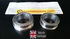 Suzuki GSXR 1000  2009 - 2016 Captive wheel spacers. Rear wheel set
