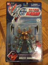 Bandai Mobile Fighter Grizzly Gundam Action Figure MSIA Lot MS In Action