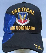 TACTICAL AIR COMMAND VETERAN Cap/Hat Black U.S. Air Force**Free Shipping**