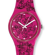 "SWATCH GENT ""PINK RIDE by Ted Scapa"" (GZ200) NEUWARE"