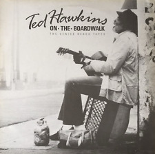 TED HAWKINS - On The Boardwalk: The Venice Beach Tapes (LP) (VG++/G++)