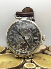 Ulysse Nardin POCKET WATCH MOVEMENT №4903.Stering Silver engraved case