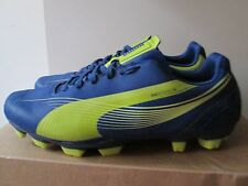 Puma EvoSpeed 5 Soccer Cleats Blue Lime Green Size 8 Lightweight Soccer Cle