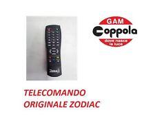 TELECOMANDO ORIGINALE PER ZODIAC DECODER DIGITALE TERRESTRE MIO RCU DZR-7/MIO