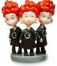 MERIDA BROTHERS Disney Pixar BRAVE PRINCESS PVC TOY Figure CAKE TOPPER FIGURINE!