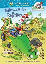 Children's HC Book Miles & Miles of Reptiles Dr Seuss Cat in the Hat Learning