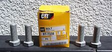 Lot Of 4 Caterpillar Part # 8T-7338 Hex Head Bolts NEW! OEM Authentic Galvanized