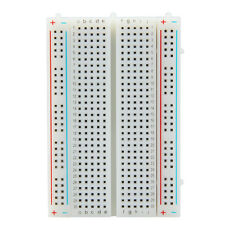 Mini Circuit Experiment Solderless Breadboard Bread Board 400 Tie Points Contact