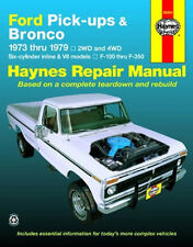 1973-1979 Ford Bronco F100 F150 F250 F350 Repair Manual 1975 1976 1977 7882