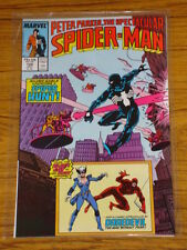 SPIDERMAN SPECTACULAR #128 V1 DD APP NEW BLACK CAT COST JULY 1987