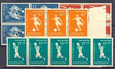 NED ANTILLEN 1957   # 265/68   (  x 5 )     KW € 50    ** PF  LUXE  FOOTBALL