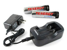 Kit: 2pcs Tenergy 18650 Li-Ion 2600mah Rechargeable Battery + TN269 SmartCharger