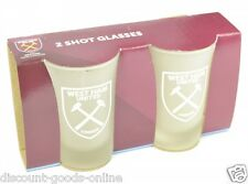WEST HAM UNITED FC TWIN PACK SHOT GLASSES