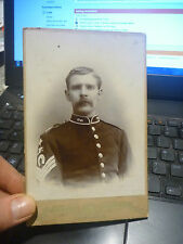 WW1 OR EARLIER PORTRAIT  PHOTOGRAPH OF SOLDIER HARTLEPOOL