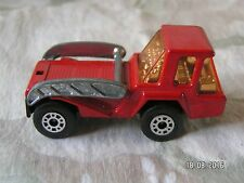 MATCHBOX SUPERFAST MADE IN ENGLAND No 37 SKIP TRUCK RED