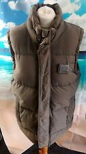 SUPERDRY™ GILET. Women's brown Academy Down Feather filled bodywarmer.19w 28l XL