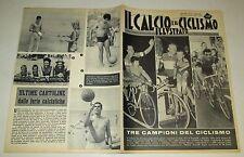 IL CALCIO E IL CICLISMO ILLUSTRATO N. 31 - maspes,faggin,dancelli,... - (1965)