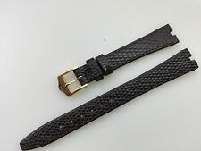 NEW Old Stock ORIGINAL GUCCI Brown  Flat 3400L WATCH BAND 13 Mm