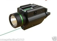 OmegaMfg  PISTOL LIGHT & GREEN LASER COMBO SIGHT 200 LUMEN For Ruger p95 Glock