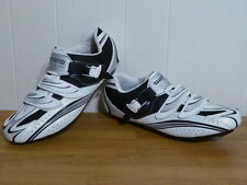 Shimano SH-R087 Road Bike Cycling Shoes White Men 47 - 11.8 SPD SL