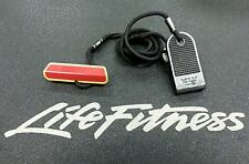 Life Fitness 95T emergency stop switch magnet treadmill lanyard shirt clip pull
