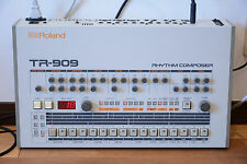 Roland TR-909 Rhythm Composer analog drum machine! professional overhauled!!